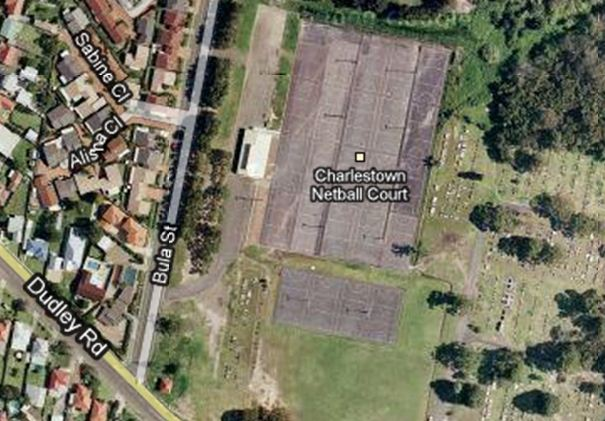 charlestown netball courts